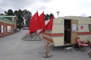 Friska vindar när hu(s)vagnen invigdes i Krokoms centrum
