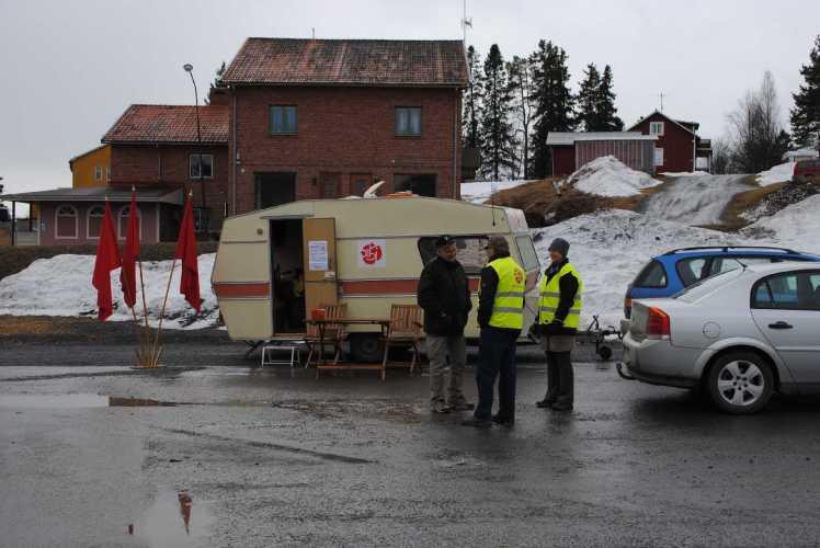 Husvagnen i Föllinge